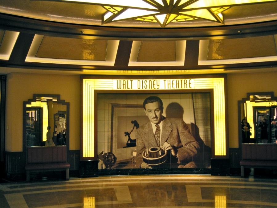 Das Walt Disney Theater auf der Disney Fantasy