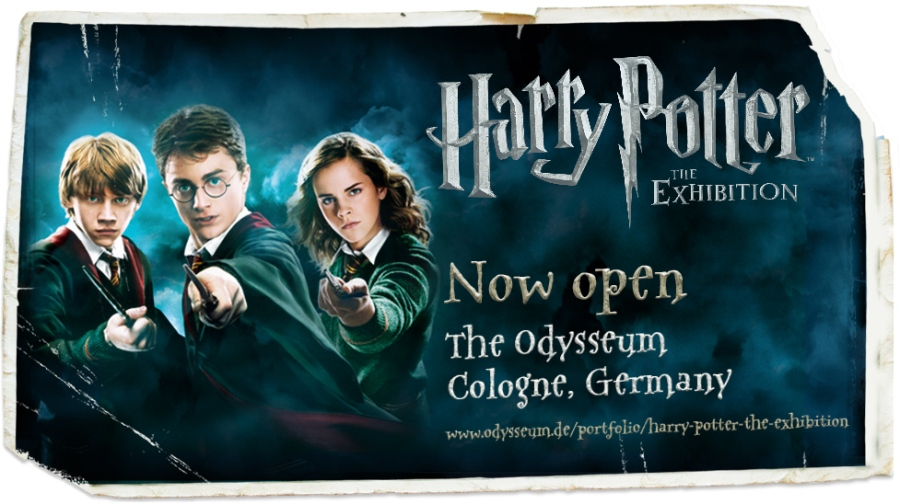 Harry Potter: The Exhibition - Jetzt in Köln
