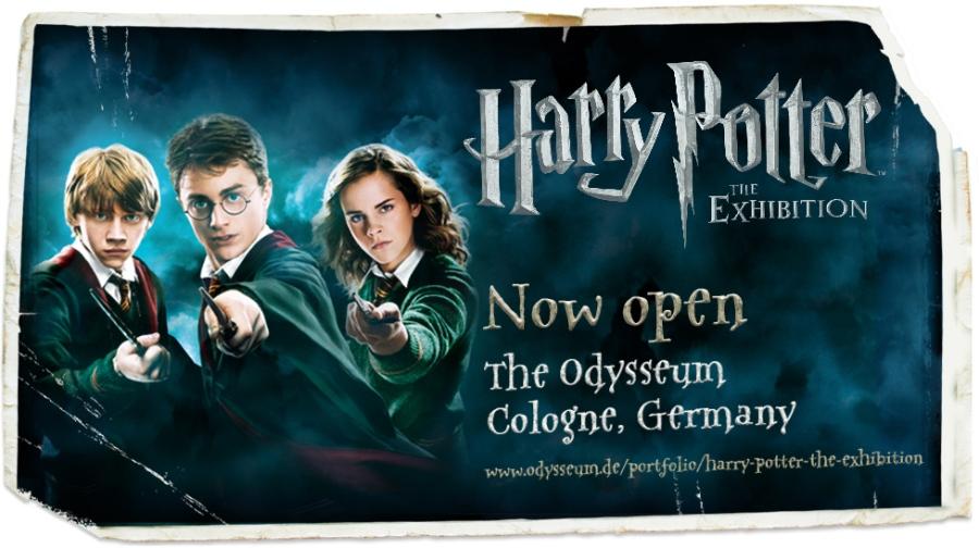 Harry Potter: The Exhibition - Jetzt in Köln