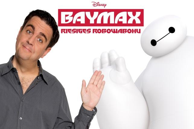 """Bastian Pastewka spricht """"Baymax"""" im gleichnamigen Disney-Animationsfilm"""