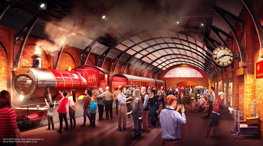 Der Hogwarts Express kommt ab März in die Warner Bros Studio Tour in London