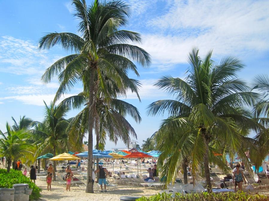 Bahamastrand pur auf Castaway Cay - Insel der Disney Cruise Line