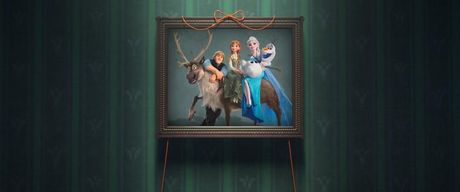 """Charaktere von """"Die Eiskönigin"""" im Disney-Kurzfilm """"Frozen Fever"""""""