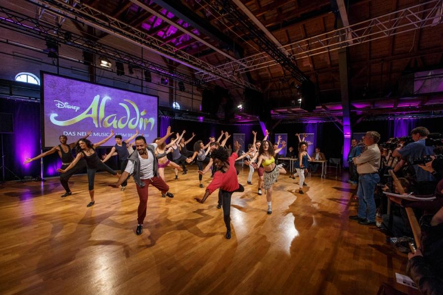 Disneys Aladdin: Finale Castings für die Hauptdarstellerin in Hamburg