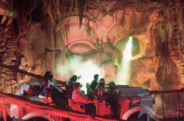 Indiana Jones Adventure - Disneyland California