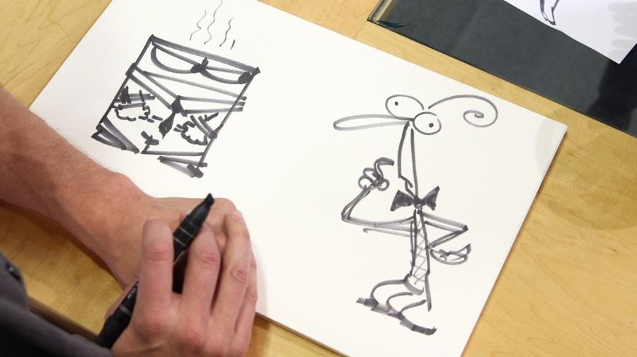"Pixar-Regisseur Pete Docter im Portrait in der CNN Sendung ""Ones to Watch"""