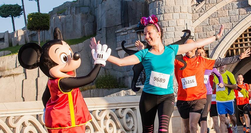 Neue Informationen zum Halbmarathon im Disneyland Paris
