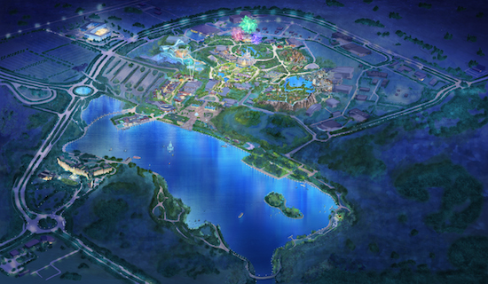 shanghai-disneyland-resort-artwork-modell