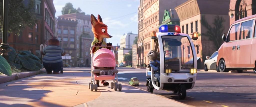 """Judy Hopps und Nick Wilde im neuen Trailer zu Disneys """"Zoomania"""""""