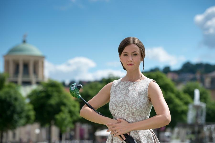 Elisabeth Hübert, Hauptdarstellerin im neuen Musical Mary Poppins in Stuttgart