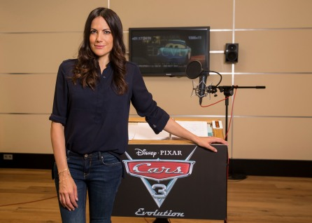 Disney, Cars 3, Bettina Zimmermann im Synchronstudio .Foto: folioscope/Hanna Boussouar